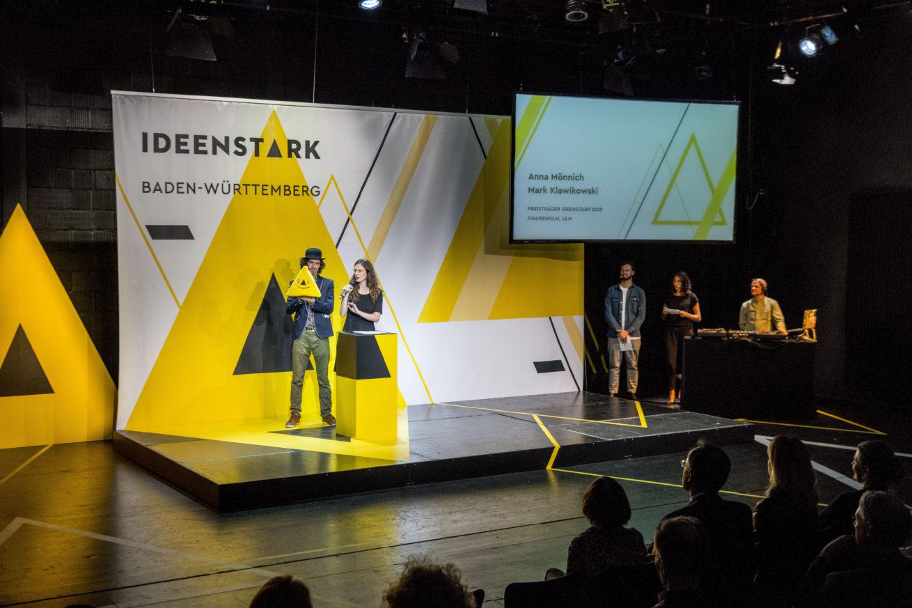 Preisverleihung Ideenstark 2019